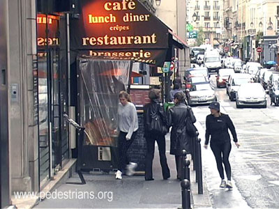 Sidewalk cafe, Paris