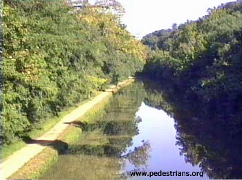Chesapeake & Ohio Canal towpath.